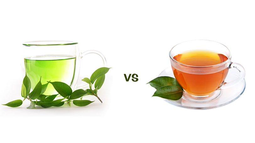 Thay thế cà phê bằng trà xanh, trà đen… để tránh bị ra mồ hôi nhiều